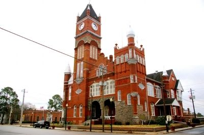 The Terrell County Courthouse image. Click for full size.