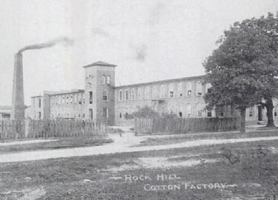 Rock Hill Cotton Factory image. Click for full size.