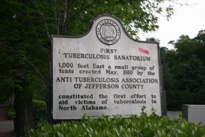 First Tuberculosis Sanatorium Marker image. Click for full size.