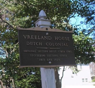 Vreeland House Dutch Colonial image. Click for full size.