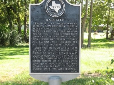 Ratcliff Marker image. Click for full size.