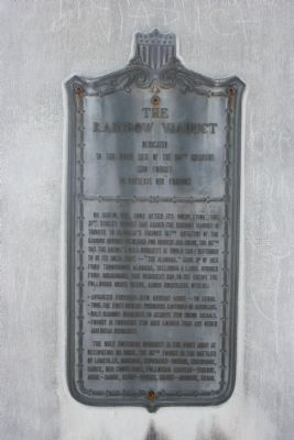 The Rainbow Viaduct Marker image. Click for full size.