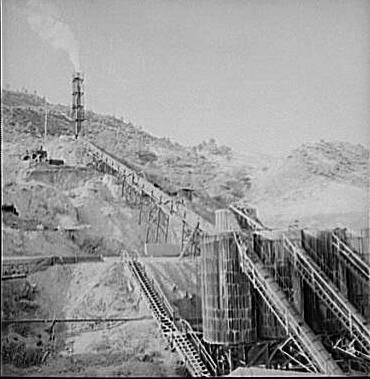 New Idria Mine - Mercury Extraction Plant image. Click for full size.