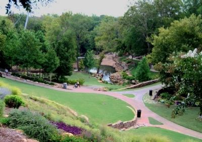 Reedy River Falls Park -<br>From the South Overlook image. Click for full size.