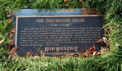 The Touchstone House Marker image. Click for full size.