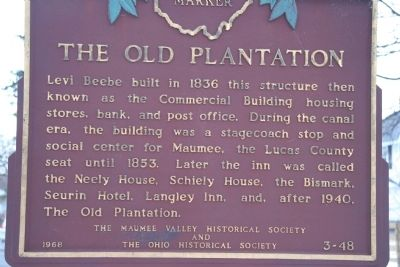 The Old Plantation Marker image. Click for full size.