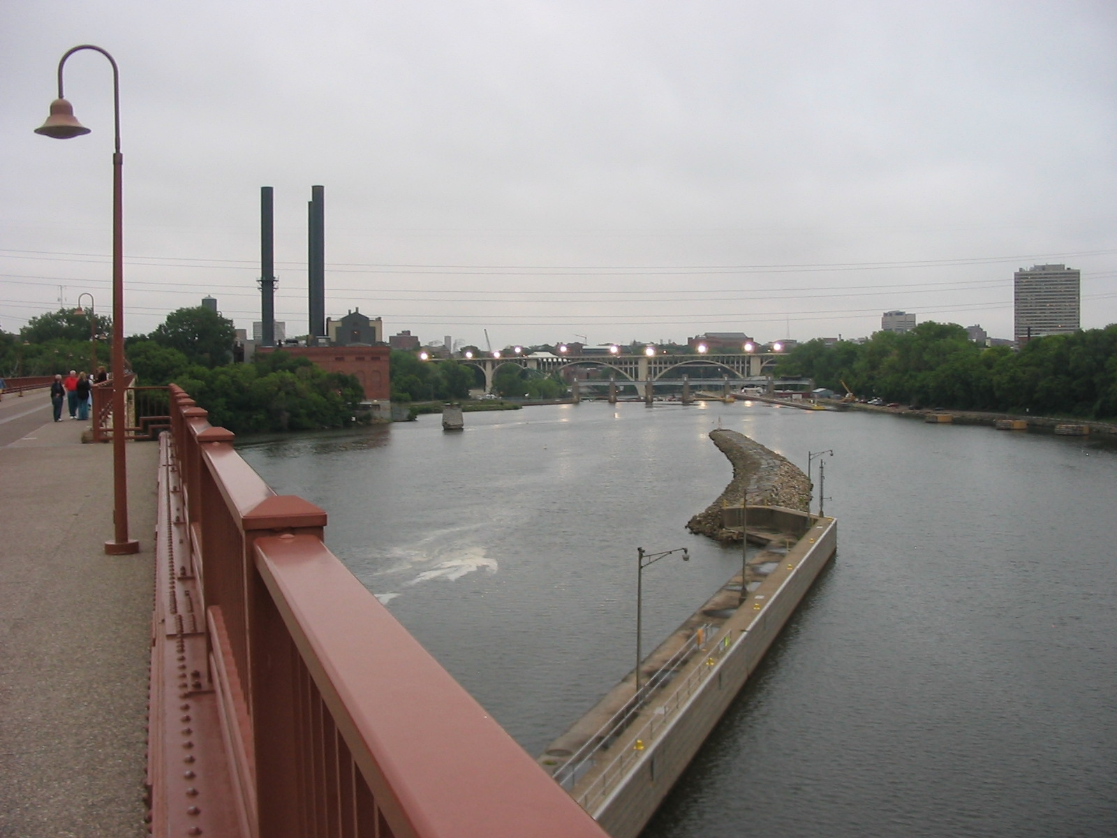 View of Mississippi River from Bridge