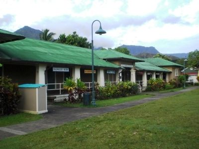 Old Hanalei School image. Click for full size.