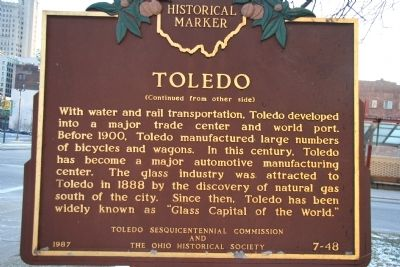 Toledo Marker image. Click for full size.
