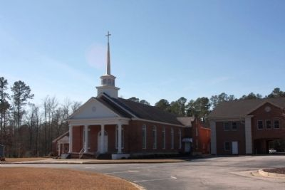 First Baptist Church in Georgia - Kiokee Church image. Click for full size.