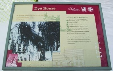 Dye House Marker image. Click for full size.
