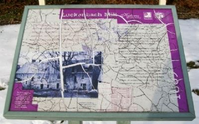 Luckenbach Mill Marker image. Click for full size.
