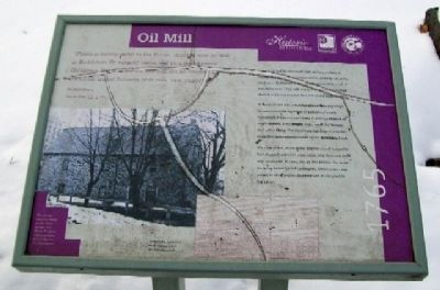Oil Mill Marker image. Click for full size.