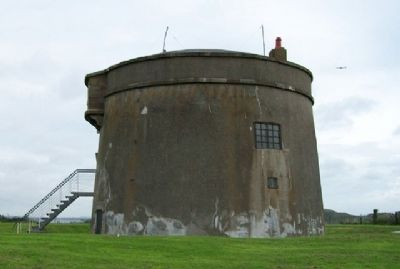 Martello Tower Overlooking Howth Harbour image. Click for full size.