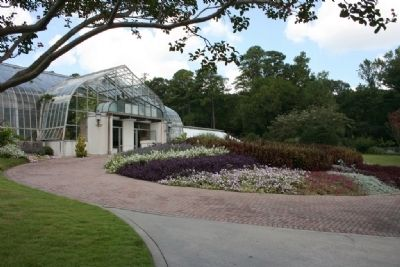 The Greenhouse Conservatory of the Birmingham Botanical Gardens image. Click for full size.