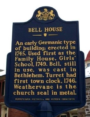 Bell House Marker image. Click for full size.