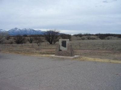 Camp Crittenden Marker image. Click for full size.