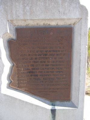Tubac Marker image. Click for full size.