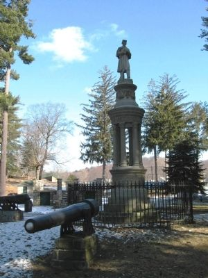 Seymour Soldiers Monument image. Click for full size.