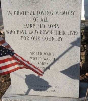 Fairfield Sons Memorial Marker image. Click for full size.