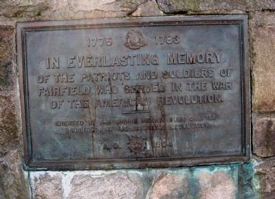 Fairfield Revolutionary War Memorial Marker image. Click for full size.