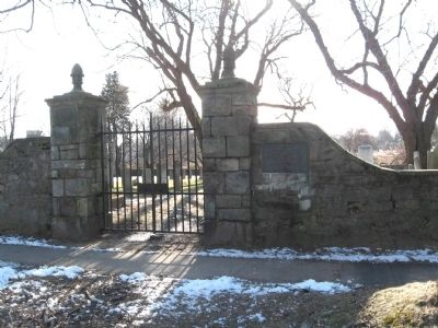 The Gate to the Old Burying Ground image. Click for full size.