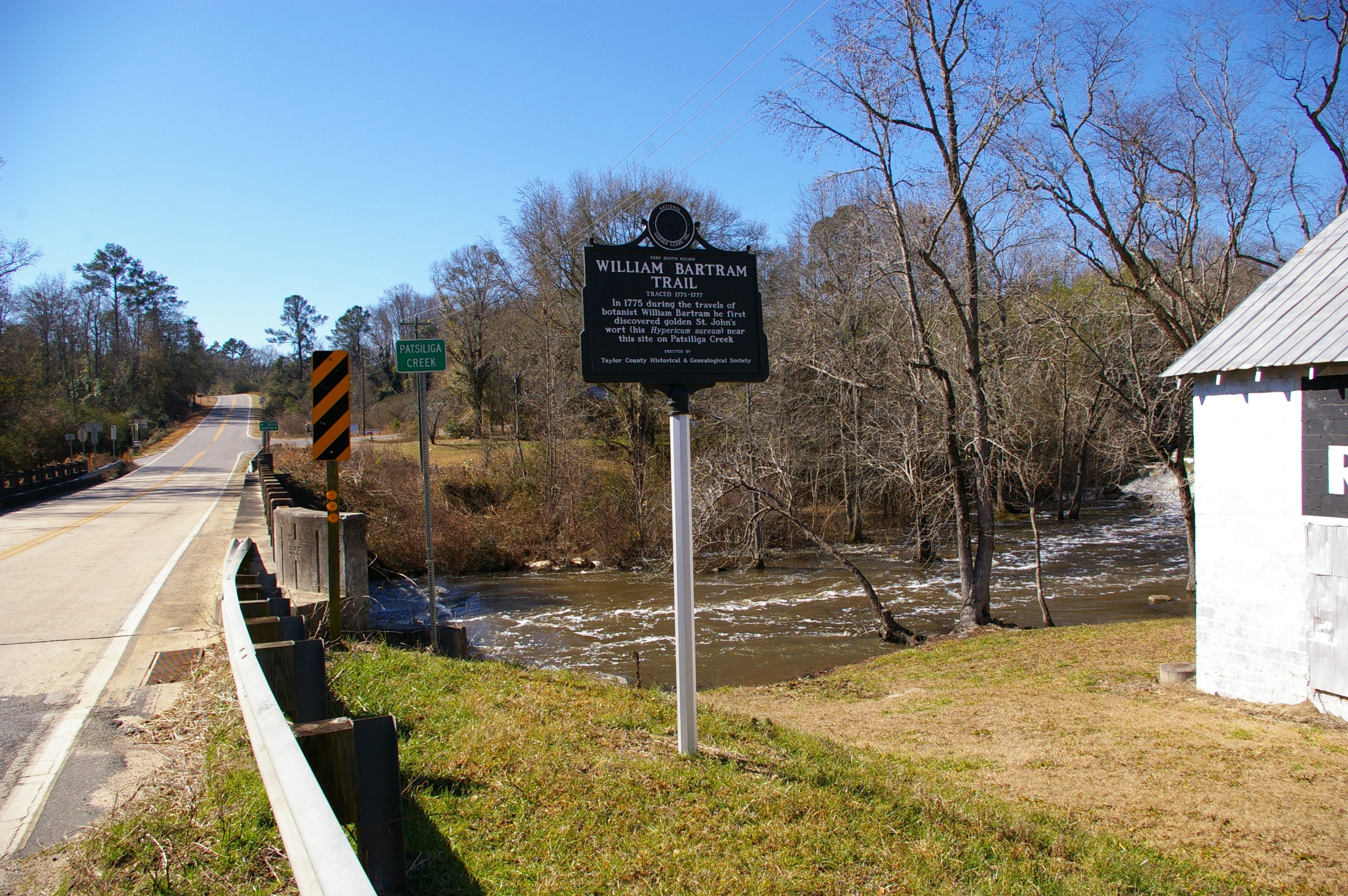 William Bartram Trail Marker