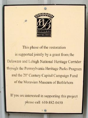 Nain-Schober House Restoration Sponsors image. Click for full size.