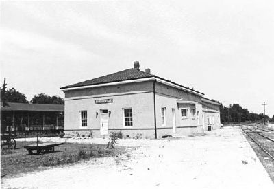 Southern Railway Passenger Depot image. Click for full size.