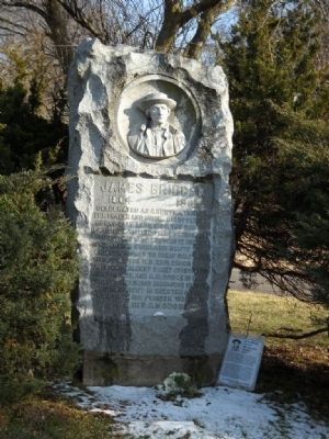James Bridger Gravesite Marker image. Click for full size.