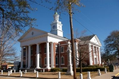 Taylor County Courthouse image. Click for full size.