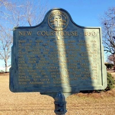 New Courthouse - 1850 Marker image. Click for full size.