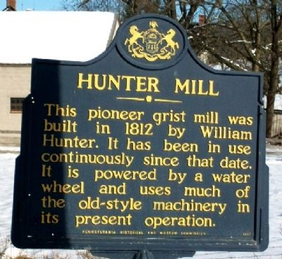 Hunter Mill Marker image. Click for full size.