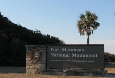 Fort Matanzas National Monument image. Click for full size.