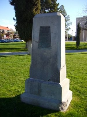 To The Mormon Battalion Marker image. Click for full size.