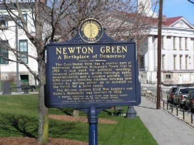 Newton Green Marker image. Click for full size.