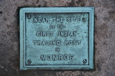 First Indian Trading Post Marker image. Click for full size.