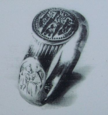 Girley Ring Photo on Marker image. Click for full size.