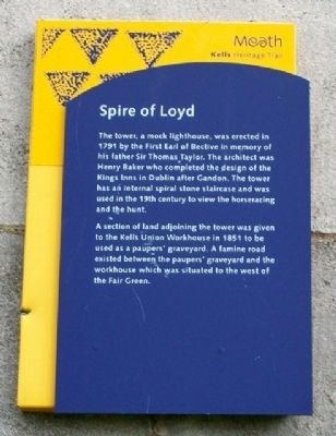 Spire of Loyd Marker image. Click for full size.