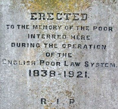 Kells Union Workhouse Paupers' Graveyard Memorial image. Click for full size.