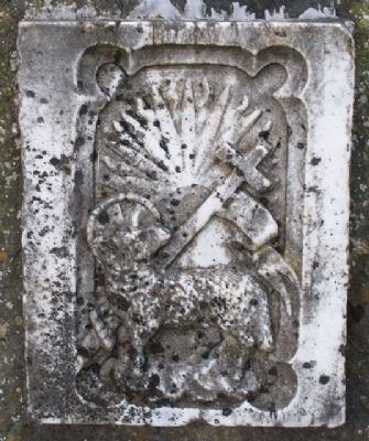 Kells Union Workhouse Paupers' Graveyard Altar Detail image. Click for full size.