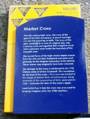 Market Cross Marker image. Click for full size.