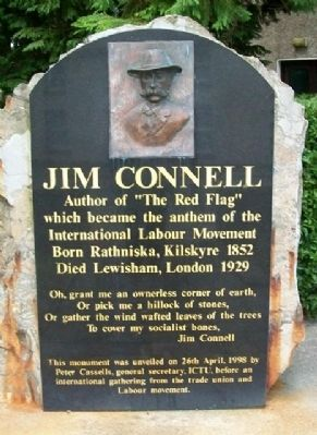 Jim Connell Monument image. Click for full size.
