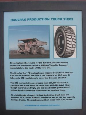 Haulpak Production Truck Tires Marker image. Click for full size.