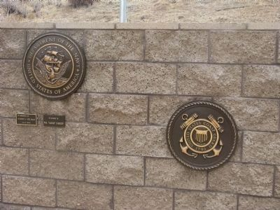 Left Center Plaques image. Click for full size.