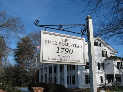 Burr Homestead Sign image. Click for full size.