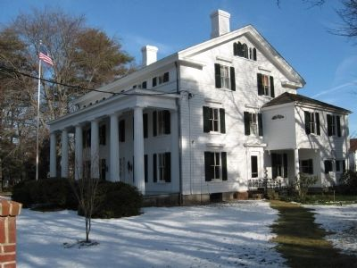 Burr Homestead Mansion image. Click for full size.