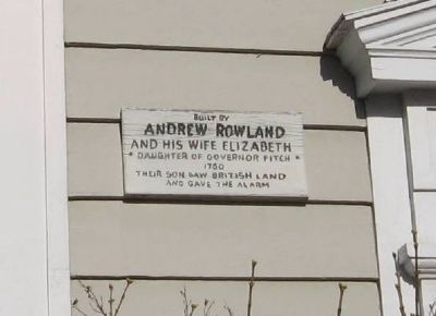 Andrew Roland House Marker image. Click for full size.