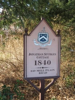 Jonathan Sturges Cottage Sign image. Click for full size.