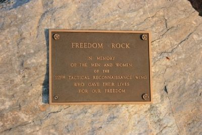 Freedom Rock image. Click for full size.